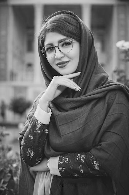Modelki W Hidżab I Okulary Darmowe Zdjęcia