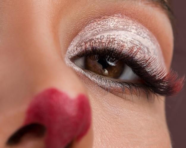Modelki Z Animacją Makijażu Darmowe Zdjęcia