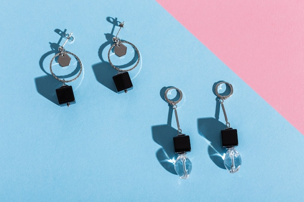 Modny Komplet Biżuterii Premium Zdjęcia