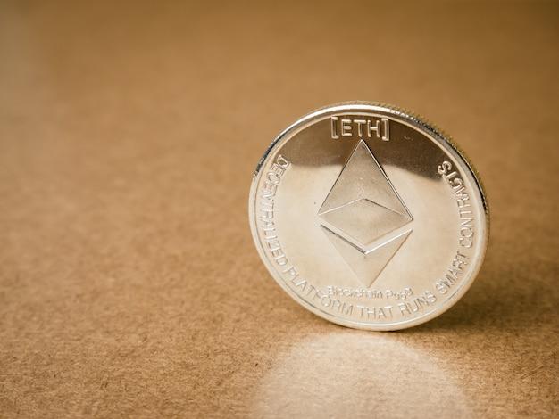 Moneta Ethereum Premium Zdjęcia