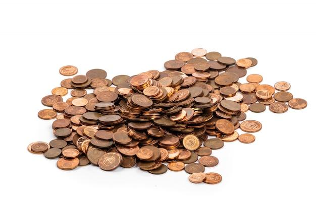 Monety Euro Cent Premium Zdjęcia