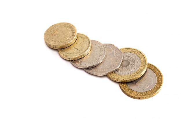 Monety wielkiej brytanii Premium Zdjęcia