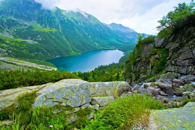 Morskie Oko W Tatrach. Darmowe Zdjęcia