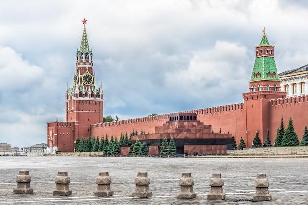 Moskwa, rosja, plac czerwony, kreml Premium Zdjęcia