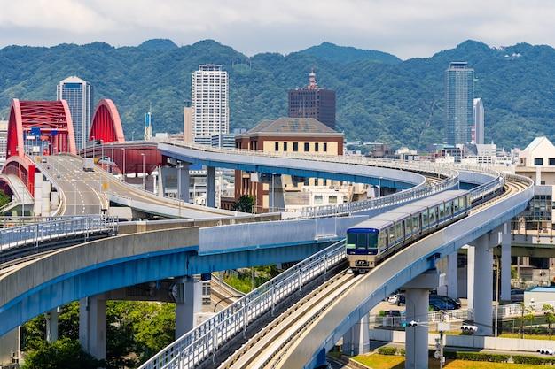 Most Do Kobe Kansai W Japonii Premium Zdjęcia