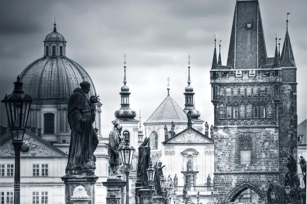 Most Karola I Zabytki W Pradze. Darmowe Zdjęcia