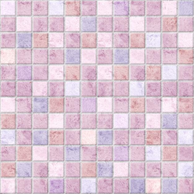 Mozaika, Dekoracyjne Płytki Z Marmuru W Pastelowych Kolorach. Kamień Tekstury Tła Premium Zdjęcia
