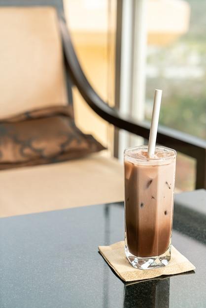 Mrożone Czekoladowe Kakao Premium Zdjęcia