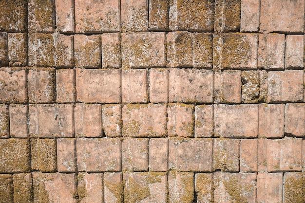 Mur Z Cegły Wygląda Staro, Minął Czas. Premium Zdjęcia
