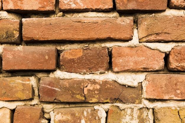 Mur Z Cegły Z Cementem Darmowe Zdjęcia