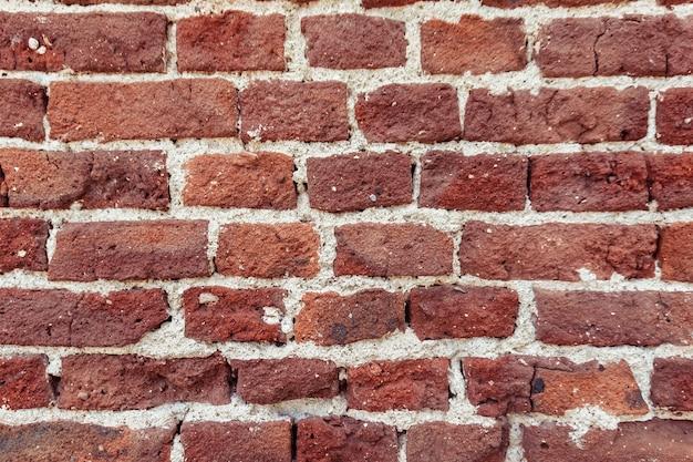Mur Z Czerwonej Cegły Premium Zdjęcia