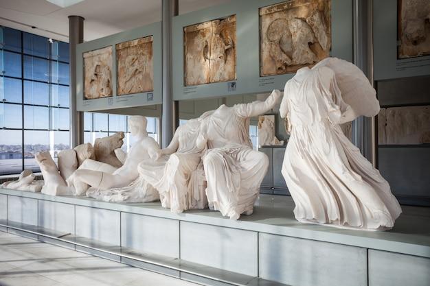 Muzeum Akropolu W Atenach Premium Zdjęcia