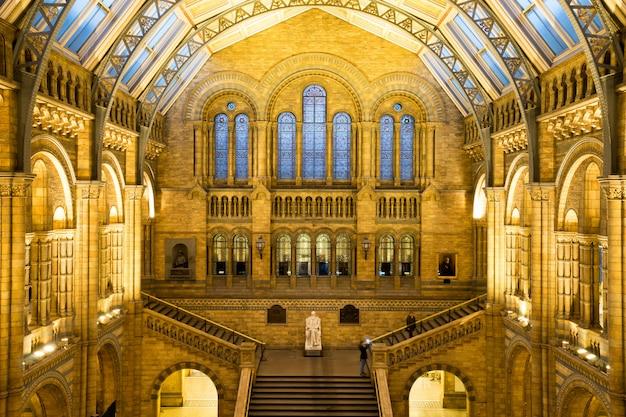 Muzeum Historii Naturalnej W Londynie, Anglia Premium Zdjęcia