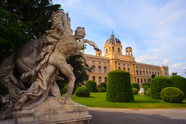 Muzeum naturhistorisches w wiedniu Premium Zdjęcia