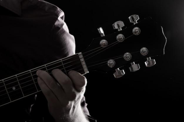 Muzyk Grający Na Gitarze Darmowe Zdjęcia