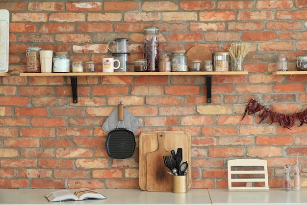 Naczynia Kuchenne Na ścianie Darmowe Zdjęcia