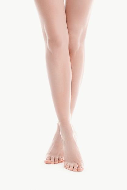 Nagie Kobiece Nogi, Koncepcja Pielęgnacji Skóry Darmowe Zdjęcia