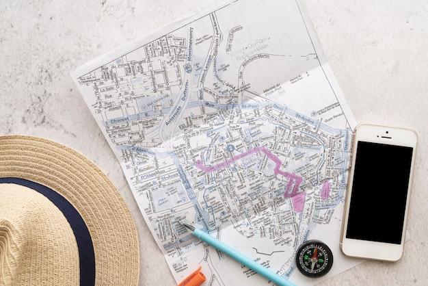 Najlepsze Akcesoria Podróżnicze I Mapa Darmowe Zdjęcia