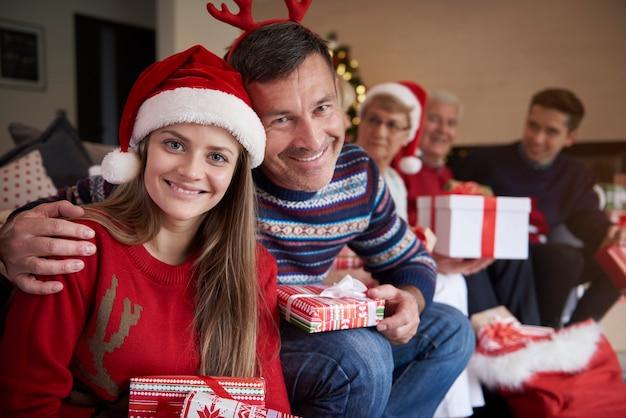 Najlepszy Prezent świąteczny Od Ojca Darmowe Zdjęcia