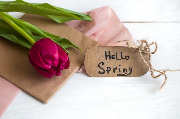 Napis Hello, Spring Darmowe Zdjęcia