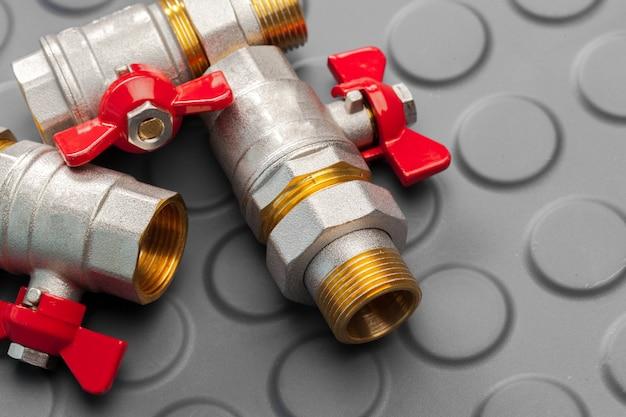 Narzędzia i materiały do prac sanitarnych Premium Zdjęcia