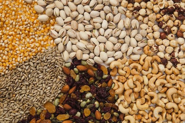 Nasiona I Orzechy Tle Darmowe Zdjęcia