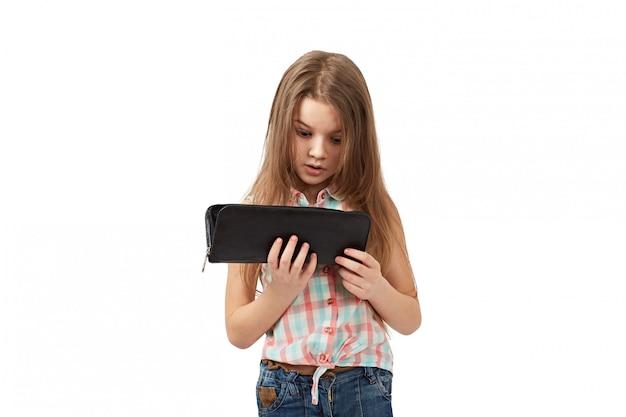 Nastolatek z pustym portfelem Premium Zdjęcia