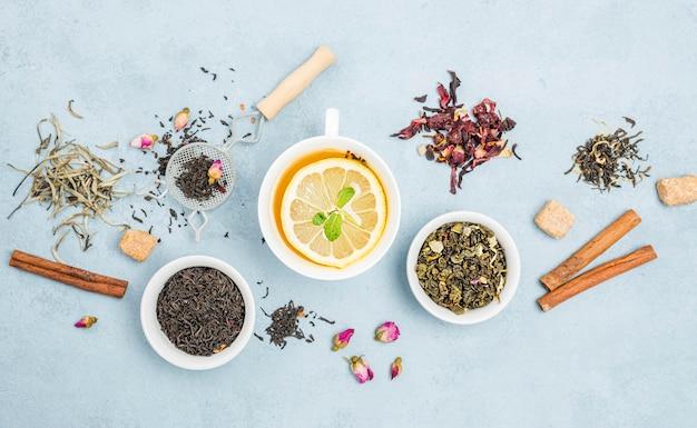 Naturalna Herbata Ziołowa Z Cytryną Darmowe Zdjęcia