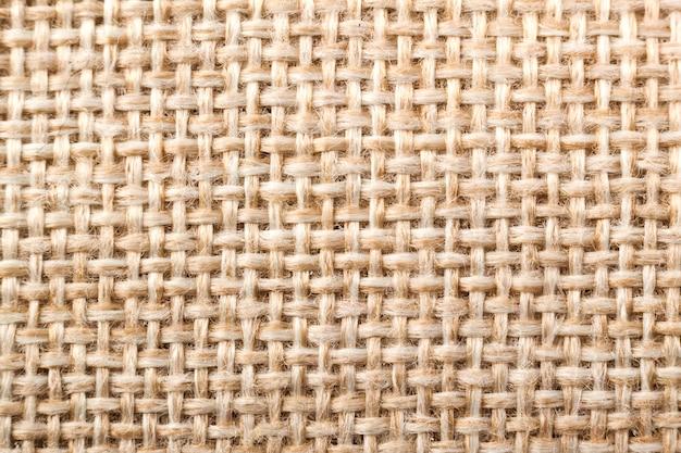 Naturalna Tekstura Płótna Tkaniny Premium Zdjęcia