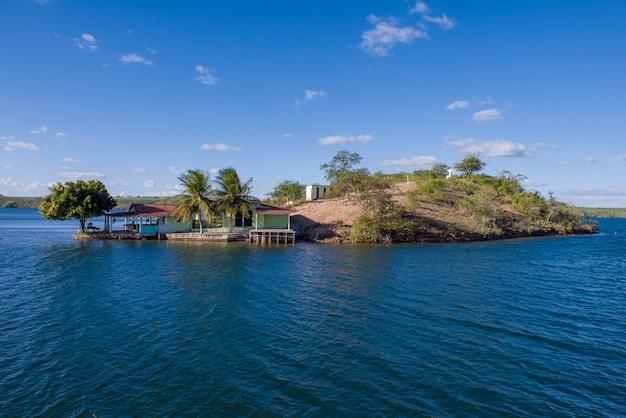 Naturalny Brazylijski Punkt Orientacyjny Premium Zdjęcia