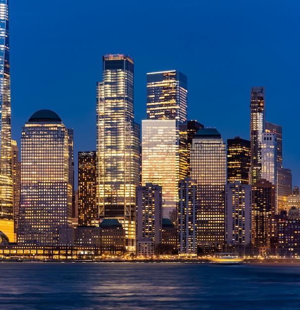 New york city lower manhattan Premium Zdjęcia