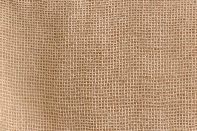 Niebielonej Bawełnianej Bawełny Tekstura Tkanina Tło. Premium Zdjęcia
