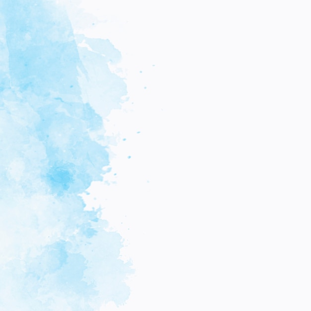 Niebieska akwarela tekstury z copyspace po prawej stronie Darmowe Zdjęcia