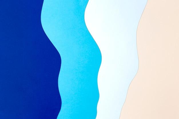 Niebieski I Różowy Styl Tła Papieru Darmowe Zdjęcia