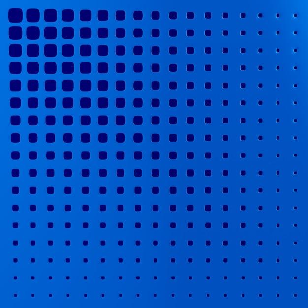 Niebieski Panel Perforowany. Ilustracja 3d Premium Zdjęcia