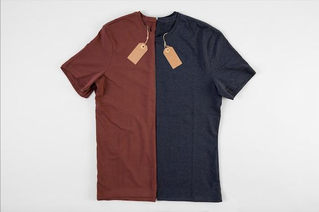 Niebieskie I Czerwone Koszulki Darmowe Zdjęcia