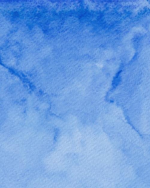 Niebieskie Tło Akwarela Tekstury, Cyfrowy Papier Akwarela Premium Zdjęcia