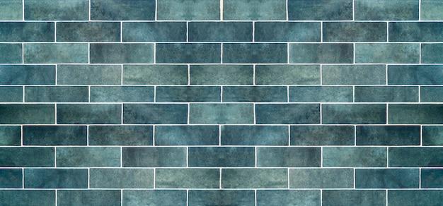 Niebieskie Tło Płytek Ceramicznych. Stare Zabytkowe Płytki Ceramiczne W Kolorze Niebieskim Do Dekoracji Kuchni Lub łazienki Premium Zdjęcia
