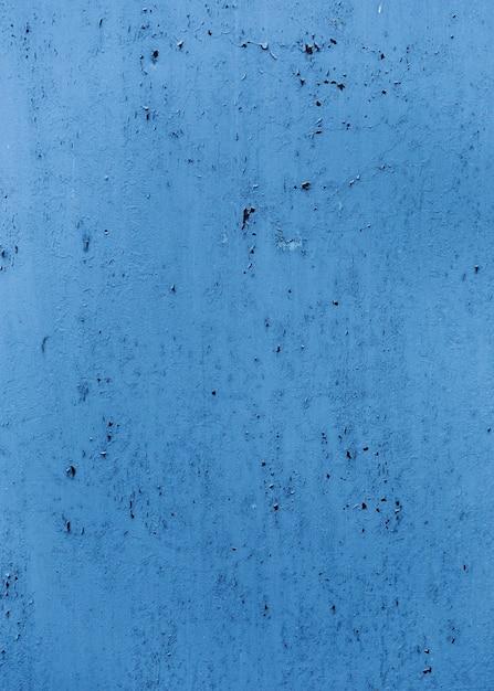 Niebiesko Pomalowana ściana Tekstur Z Pęknięć Darmowe Zdjęcia