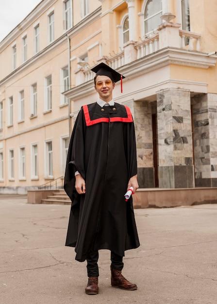 Niski Kąt Ukończył Student Darmowe Zdjęcia