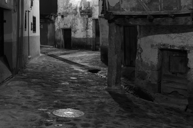 Noc W Valverde De La Vera Premium Zdjęcia