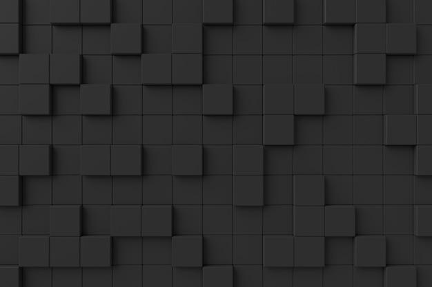 Nowoczesna ściana. renderowanie 3d. Premium Zdjęcia