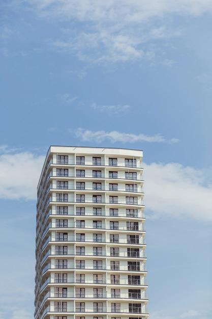 Nowoczesny budynek mieszkalny Premium Zdjęcia