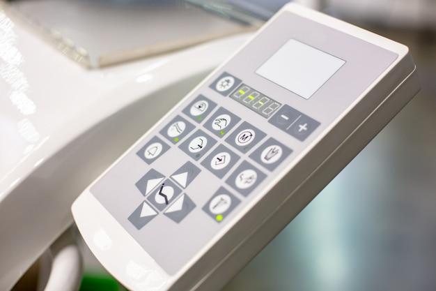 Nowoczesny Panel Sterowania Maszyny Dentystycznej Do Leczenia Zębów Premium Zdjęcia