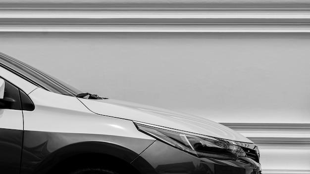 Nowoczesny Reflektor Samochodowy. Premium Zdjęcia