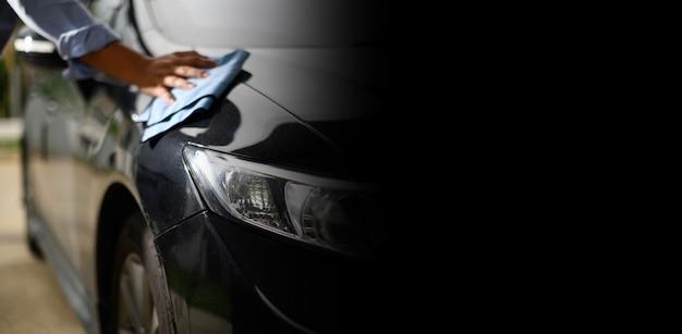 Nowoczesny Transparent Myjnia Samochodowa Premium Zdjęcia