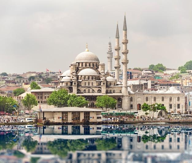 Nowy meczet w stambule Premium Zdjęcia