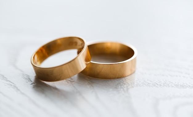 Obrączki ślubne Premium Zdjęcia