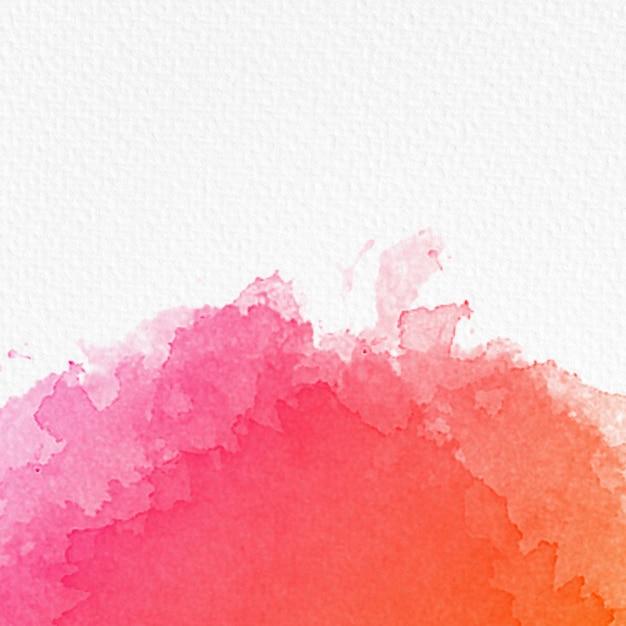 Obramowanie tła akwarela z miejsca kopiowania na papierze z teksturą Darmowe Zdjęcia