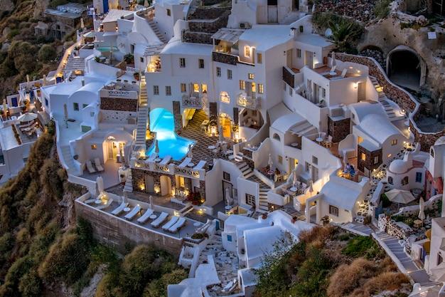 Oia Santorini Grecja Premium Zdjęcia